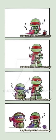 Raph and Leo aww cute by on DeviantArt Teenage Ninja Turtles, Ninja Turtles Art, Tmnt 2012, Tmnt Comics, Leonardo Tmnt, Favorite Tv Shows, Anime Characters, Nerdy, Link Zelda