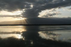 Sunrise at Lake Natron, Tanzania, Africa, by Tracy Sparkes