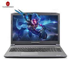 ThundeRobot ST-PLUS Gaming Laptops PC Tabletten Nvidia GTX1050 Intel Core i7 7700HQ 15,6 Zoll 8 GB RAM 256 GB SSD silber Hintergrundbeleuchtung