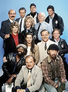 """Hill Street Blues"" (1981-87)  Arguably the most influential television drama series of the last 30 years."