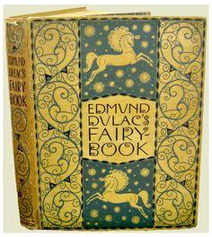 Edmund Dulac's incredible book design.