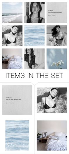"""""""☾ a goddess in the ocean blue ☾"""" by coco-kisses ❤ liked on Polyvore featuring art"""