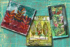 Trio of Mixed Media Gems - by Deborah | That's Blogging Crafty!