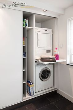 Clever Storage Ideas for Your Tiny Laundry Room. Wall Storage for Laundry Suppli… Clever Storage Ideas for Your Tiny Laundry Room. Wall Storage for Laundry [. Kitchen Corner Cupboard, Cupboard Storage, Closet Storage, Laundry Storage, Bathroom Storage, Clever Storage, Laundry Room Storage Shelves, Small Laundry Room Organization, Laundry Cupboard