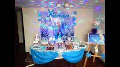 decoracion tematica frozen - Buscar con Google