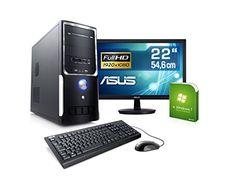 """Sale Preis: PC mit Monitor - CSL Sprint Vision H6465 - AMD A8-6600K APU 4x 3900 MHz, 16 GB RAM, 1000 GB HDD, Radeon HD 8570D 4 GB, DVD-RW, USB 3.0, 22"""" ASUS LED TFT, Windows 7. Gutscheine & Coole Geschenke für Frauen, Männer & Freunde. Kaufen auf http://coolegeschenkideen.de/pc-mit-monitor-csl-sprint-vision-h6465-amd-a8-6600k-apu-4x-3900-mhz-16-gb-ram-1000-gb-hdd-radeon-hd-8570d-4-gb-dvd-rw-usb-3-0-22-asus-led-tft-windows-7  #Geschenke #Weihnachtsgeschenke #Geschenkideen #G"""