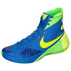 Hyperdunk 2015 Basketballschuh Herren    Der Nike Hyperdunk 2015 wurde weiter perfektioniert und verspricht dank neuester Technologien und verbesserter Funktionen ein Spiel auf allerhöchstem Niveau.     Die Hyperfuse-Konstruktion schafft ein nahezu nahtloses, einteiliges Obermaterial, das leicht, atmungsaktiv und stützend zu gleich ist. Die Flywire Technologie steht für leichten Halt und einen ...