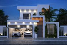Modern House Design Whether you are searching for a single-storey or double-storey design, you will be certain to locate your perfect home amongst our great Duplex House Design, Small House Design, Modern House Design, Minimalist House Design, Minimalist Decor, Modern Architects, Dream House Exterior, Facade House, Exterior Design