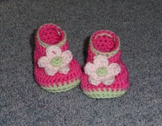 Free Crochet Shoes, Booties, Sandals, Sneakers, and Slippers Patterns for Babies