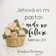 "Jehová es mi pastor... ""Jehová es mi pastor; nada me faltará."" https://sendaseternas.blogspot.com.es/2017/09/jehova-es-mi-pastor.html #Versiculobiblico #Biblia #Jehová #Sendaseternas"