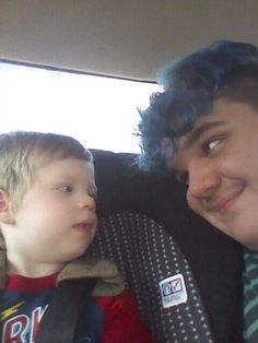 Me and my baby cousin a few months ago