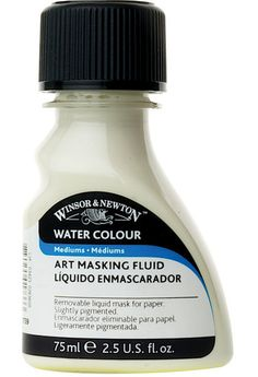 Shop Winsor & Newton Watercolor Mediums - Art Masking fluid, 75 ml bottle at Utrecht. Your source for quality, professional art supplies. Winsor And Newton Watercolor, Michael Store, Paint Party, Artist Painting, Medium Art, Spray Bottle, Watercolor Art, Masking, Amazon