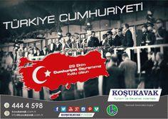 Koşukavak Turizm ailesi olarak 29 Ekim Cumhuriyet Bayramımız kutlu olsun.