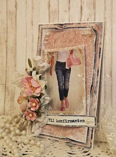Cardmaking, Diy And Crafts, Projects To Try, Shabby Chic, Scrapbooking, Table Decorations, Denim, Jeans, Boys