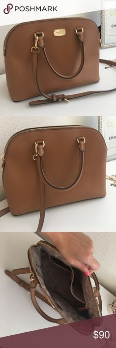 1a5803b8f6b02 Michael Kors handbag Luggage medium sized Michael Kors handbag. Only used  for a few months