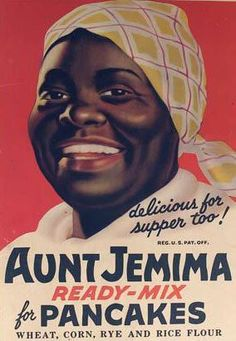 It is nearly impossible to have grown up in America and not be familiar with Aunt Jemima. However, when thinking of Aunt Jemima, people often associate a person to the name not the pancakes. Minstrel Show, Vintage Advertisements, Vintage Ads, Vintage Stuff, Vintage Food, Vintage Graphic, Retro Ads, Poster Vintage, Vintage Labels
