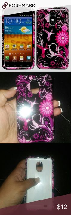 Samsung Galxy S2 phone case. New with out tags. Absolutely beautiful case. Accessories Phone Cases