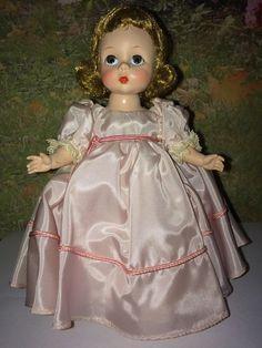 """Madame Alexander, 1953 8"""" Wendy Ann Bridesmaid, SLNW #MadameAlexander #Dolls"""