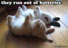 No more battery.