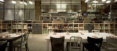 CONCEPT INTERIORS: Industrial restaurant in Amsterdam