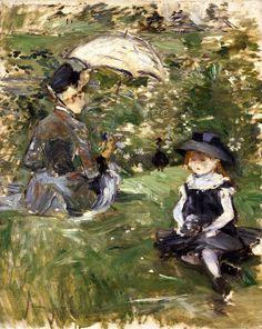 Berthe Morisot : the forgotten Impressionist.
