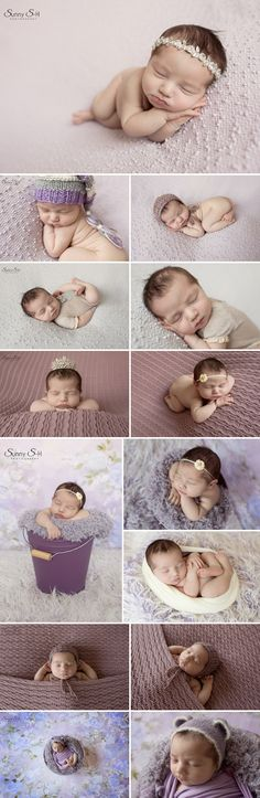 10 day old Savannah and her spring inspired studio newborn photo shoot. Sunny S-H Photography Winnipeg