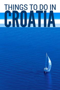 Absolute-must-do things to do in Croatia. There are dozens of ways to experience the magic of Croatia. Meander the warren of cobbled streets in cities centuries old, discovering UNESCO sites as you go. Spend a day or maybe weeks mesmerised by the turquoise waters of the Adriatic Sea as you sail Croatia's 1,000 islands or maybe you'd like to hike, cycle or raft along one of the 8 stunning national parks?  #Croatia #thingstodo #Travel #TravelBlog