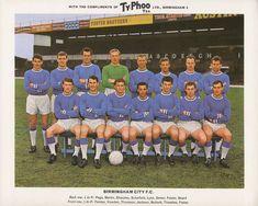 Birmingham City team group in Retro Football, Football Kits, Football Cards, Football Players, Typhoo, Birmingham City Fc, Bristol Rovers, Laws Of The Game, English Football League