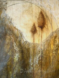Alicia Tormey - encaustic  PINNED by My Art y Lezama