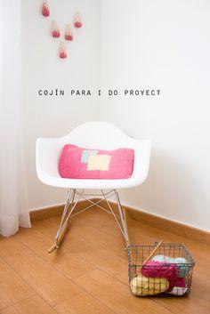COJÍN CON LANA DE ALGODÓN DE I DO PROYECT