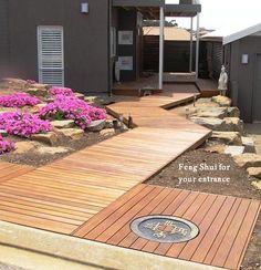 Feng Shui boardwalk