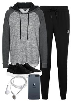 """Style #9768"" by vany-alvarado ❤ liked on Polyvore featuring moda, adidas Originals, mbyM ve rag & bone"