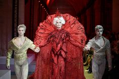 PARIS, FRANCE - JANUARY 25:  Carmen Dell'Orefice walks the runway during the Guo Pei  Spring Summer 2017 show as part of Paris Fashion Week on January 25, 2017 in Paris, France.  (Photo by Kristy Sparow/Getty Images) via @AOL_Lifestyle Read more: https://www.aol.com/article/lifestyle/2017/01/27/85-year-old-model-carmen-dellorefice-fashion-week/21701919/?a_dgi=aolshare_pinterest#fullscreen
