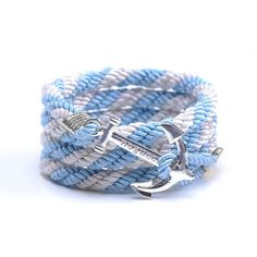 AlumniCrew Baby Blue/White Are you ready to rock your school colors in authentic Alumni Crew Style? The Joseph Nogucci Alumni Crew Bracelet Collection has brought the ancient symbolism of nautical exploration and turned it into a fashion statement that says a lot about the adventurer in you and is designed to make a splash by letting you flaunt your school spirit. - See more at: http://www.josephnogucci.com/products/alumnicrew-blue-gold#sthash.3VjePkBK.dpuf