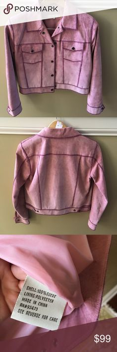 Sorbé Authentic Vintage Suede Jacket Sorbé Authentic Vintage Suede Jacket, great condition. Worn only a handful of times. sorbé Jackets & Coats