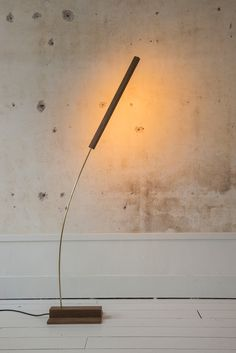 Motus Lamp by Morgan Ruben Rustic Lamps, Wood Lamps, Luxury Lighting, Lighting Design, Lamp Light, Light Bulb, Lighting Solutions, Beautiful Lights, Walnut Wood
