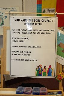 We recently had a lesson about the 12 Sons of Jacob. I love teaching about Joseph and his brothers. The KIDDOS seem to get excited about...