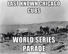 Just kidding! I like the Cubbies.