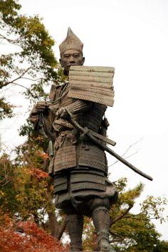 Statua Samurai - Oda Nobunaga (1534-1582) #samurai #giapppone #fotografia