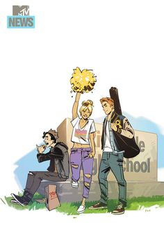 Jughead, Betty, Archie by Fiona Staples