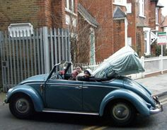 Yan Rami from London, England, with his '50 Hebmüller. He said, he uses the car…