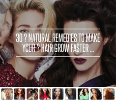 30 ? #Natural Remedies to Make Your ? Hair Grow Faster ...