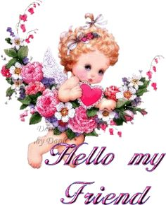 Big Hello to All My Friends............!