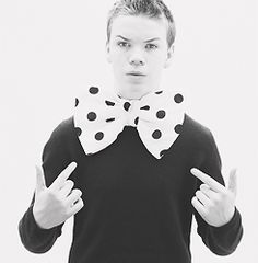 bow ties, perfect celebr, will poulter, favorit actor