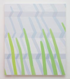Corydon Cowansage, Stairs #1, 2016, 54 x 46 inches, acrylic on canvas