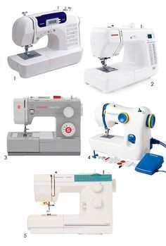 DIY Project Essentials:  Shopping for a Basic Beginner Sewing Machine