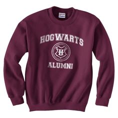 Crew Neck Sweatshirt + Harry Potter. I am so nerdy enough for this!