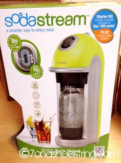 We're tired of buying sparking water (we admit our addiction). This is coming soon!!! :) Sodastream Home Soda Makers
