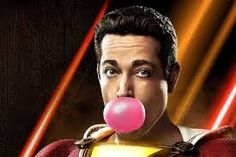A brand new poster for Shazam! Shazam Movie, Star Gossip, Comic Book Publishers, Streaming Tv Shows, Zachary Levi, Jim Lee, Comics Universe, Movie Songs, New Poster