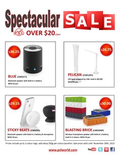 Take advantage of this great deal on 4 of our best products over $20. Sale on now through November 30th, 2013  www.pslworld.com Led Lamp, 30th, November, Smartphone, Usb, Products, November Born, Beauty Products